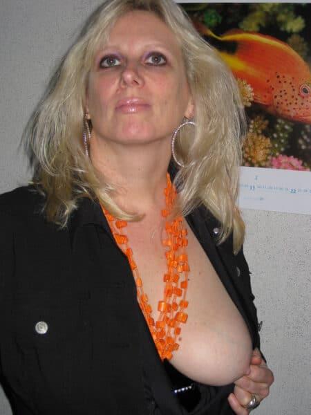 Rencontre coquine si libertin vraiment novice pour une femme mature coquine